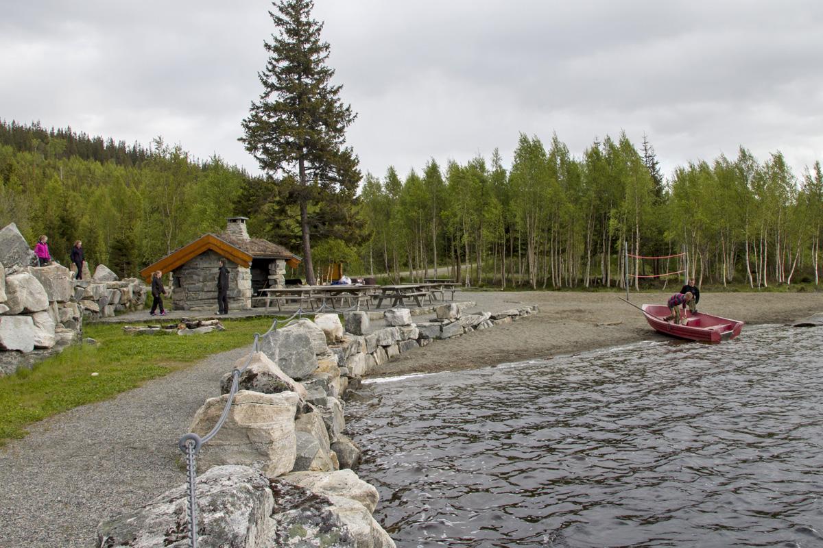 Laksvatnet i Stordalen, Åfjord